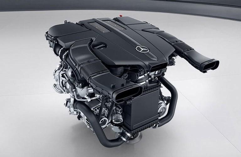 2020 Mercedes-Benz SL 3.0-liter V6 biturbo engine