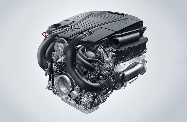 2020 Mercedes-Benz SL 4.7-liter V8 biturbo engine