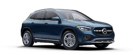 2021 Mercedes-Benz GLA Denim Blue metallic