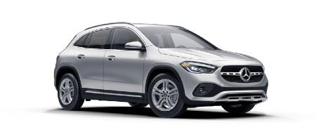 2021 Mercedes-Benz GLA Iridium Silver metallic