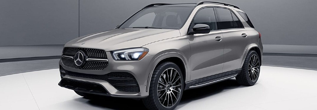 11 Color options available when choosing the 2021 Mercedes-Benz GLE luxury SUV