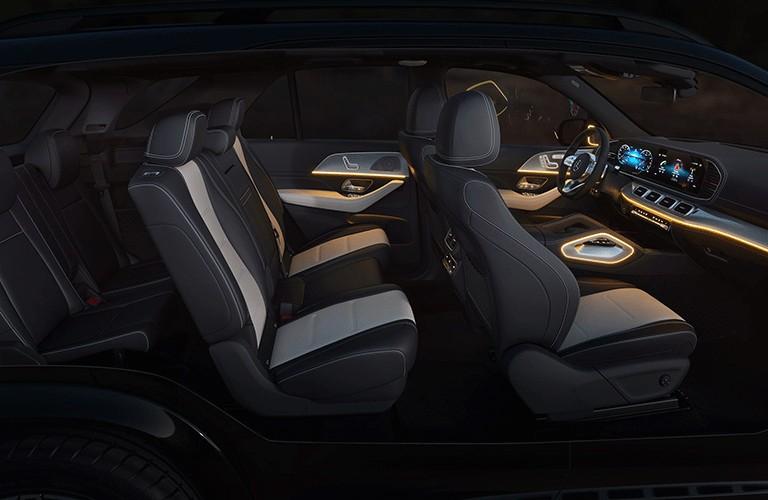 2021 Mercedes-Benz GLE passenger seats