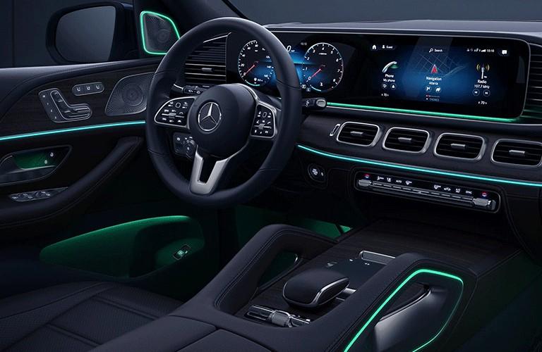2021 Mercedes-Benz GLE dashboard
