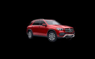 2021 Mercedes-Benz GLE designo® Cardinal Red Metallic