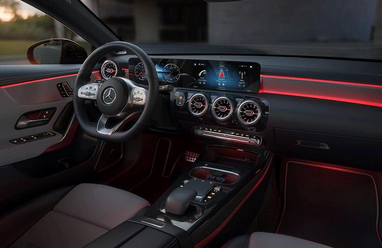 2021 Mercedes-Benz CLA Coupe dashboard
