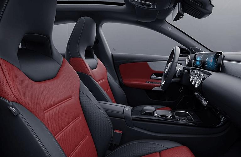 2021 Mercedes-Benz CLA Coupe front seats