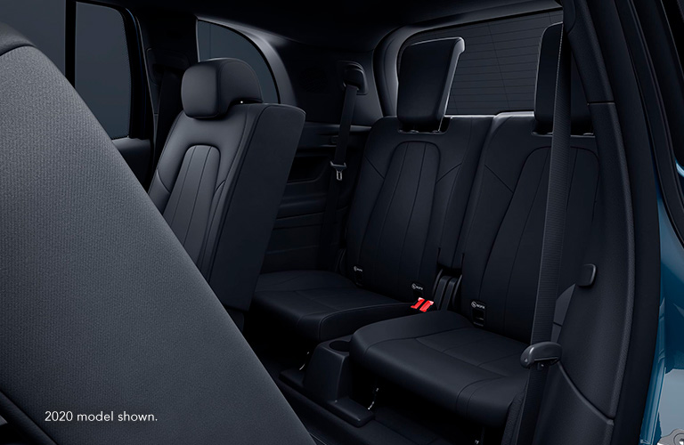 2021 Mercedes-Benz GLB rear passenger seats