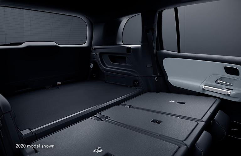 2021 Mercedes-Benz GLB rear cargo area