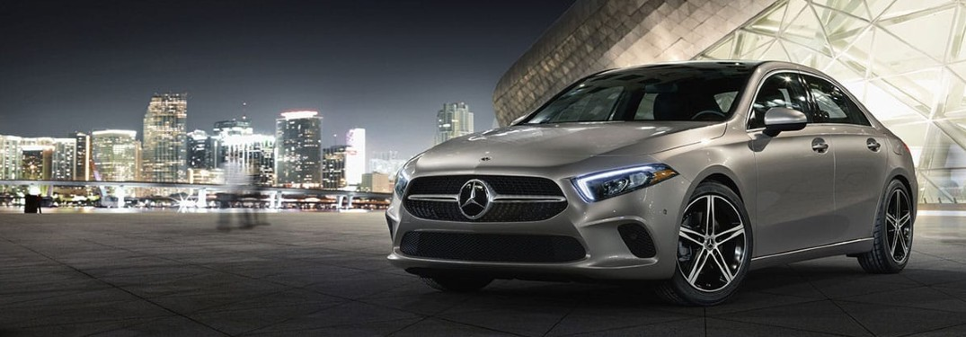 2021 Mercedes-Benz A-Class is available in 9 exterior paint color options
