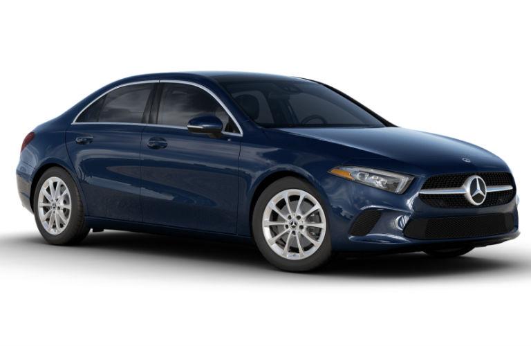 2021 Mercedes-Benz A-Class Denim Blue metallic
