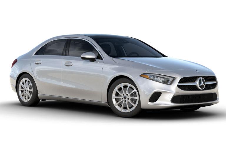 2021 Mercedes-Benz A-Class Iridium Silver metallic