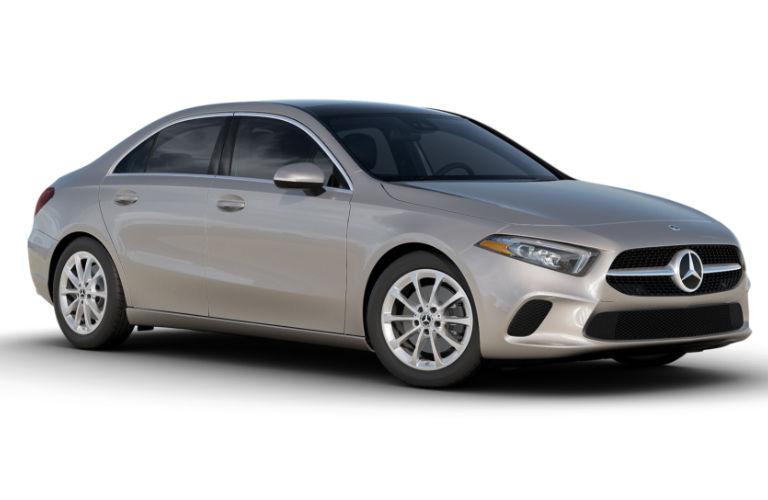 2021 Mercedes-Benz A-Class Mojave Silver metallic