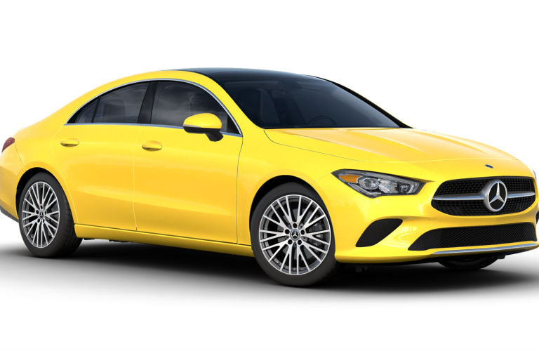 2021 Mercedes-Benz CLA Sun Yellow_o