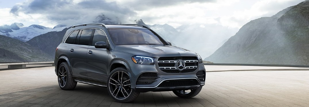 2021 Mercedes-Benz GLS front and side profile
