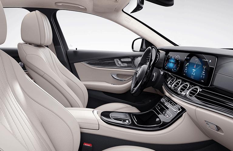 2021 Mercedes-Benz E-Class front seats