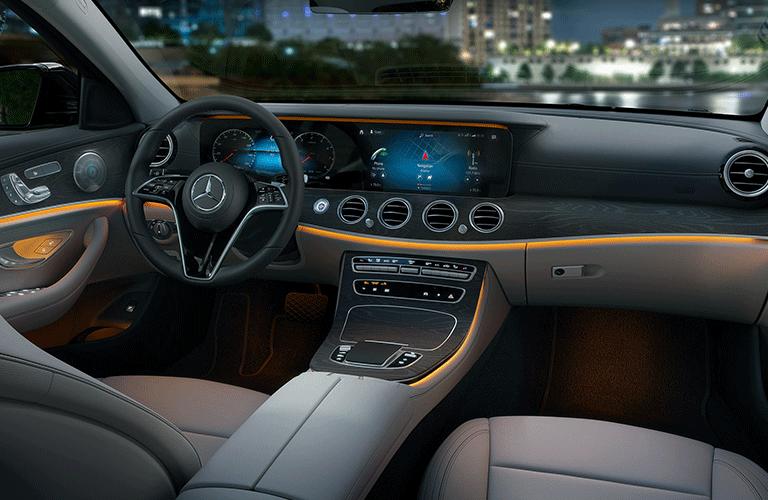 2021 Mercedes-Benz E-Class dashboard