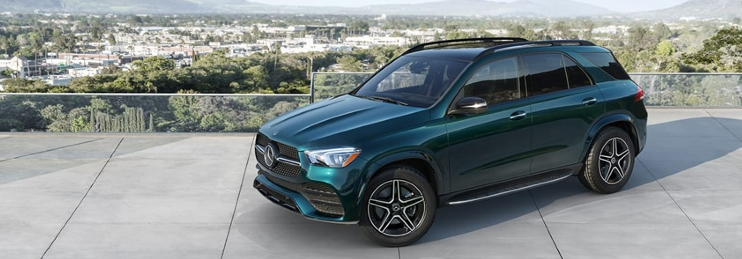 2021 Mercedes-Benz GLE front and side profile
