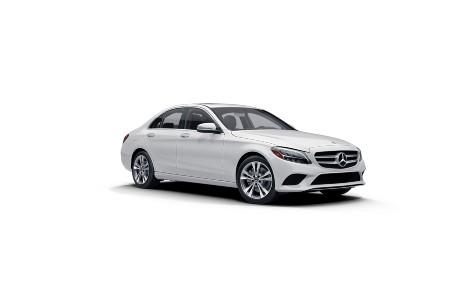 2021 Mercedes-Benz C-Class Polar White