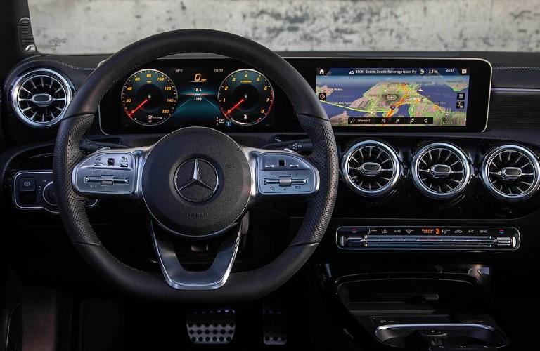 2021 Mercedes-Benz A-Class dashboard