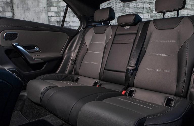 2021 Mercedes-Benz A-Class rear seats