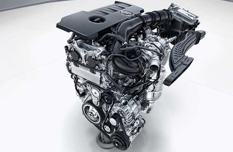 2021 Mercedes-Benz CLA engine