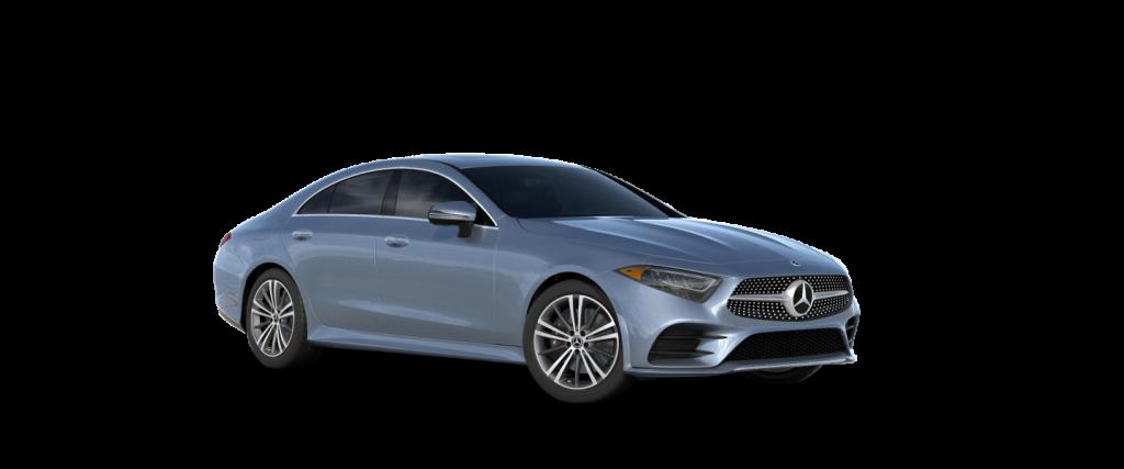 2021 Mercedes-Benz CLS designo Manufaktur Cote d'Azur Light Blue Metallic_o
