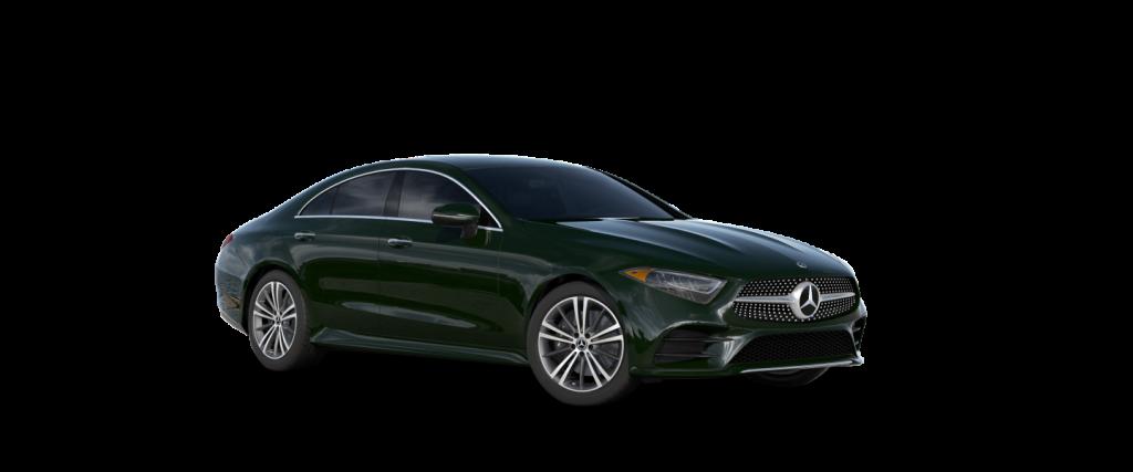 2021 Mercedes-Benz CLS designo Manufaktur Deep Green_o