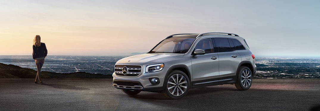 2021 Mercedes-Benz GLB SUV is available in 10 different exterior paint color options