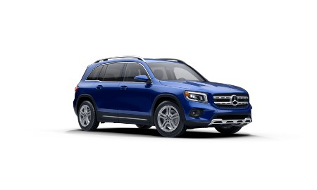 2021 Mercedes-Benz GLB Galaxy Blue metallic