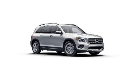 2021 Mercedes-Benz GLB Iridium Silver metallic