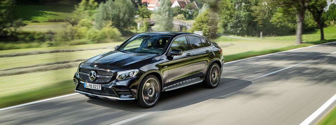 New photos and information on the 2017 Mercedes-AMG GLC43 Coupe