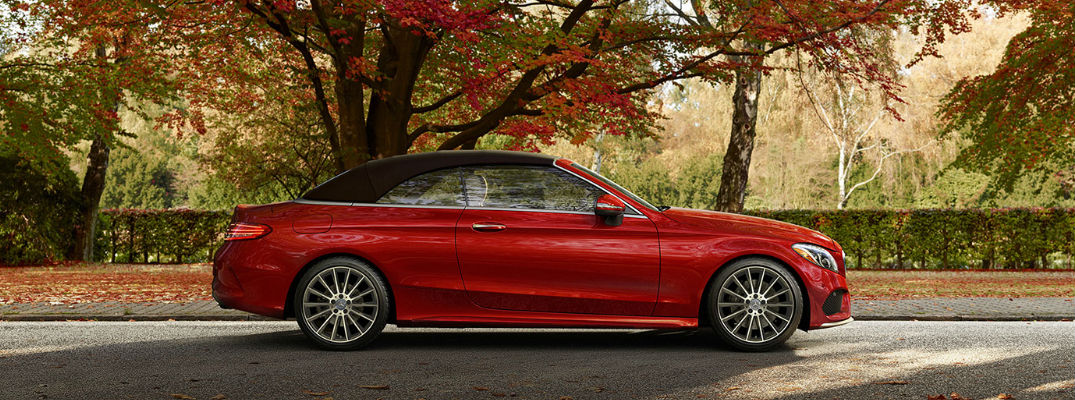 2017 C-Class Cabriolet in Red