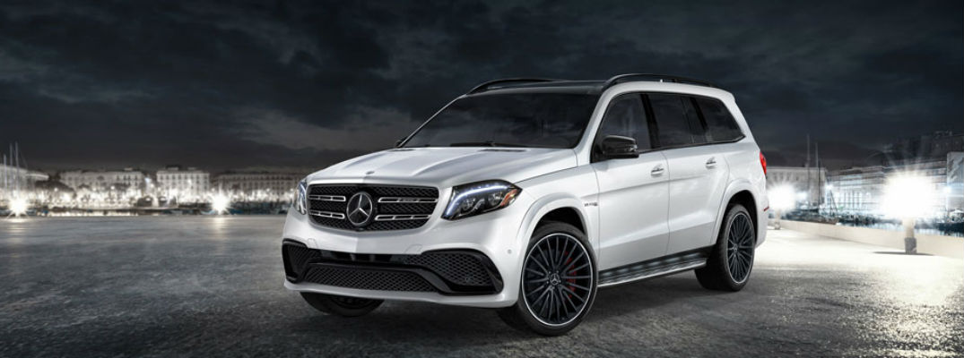 What are the engine options for the 2017 Mercedes-Benz GLS?