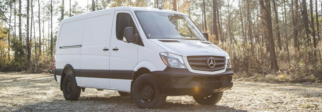2018 Mercedes-Benz Sprinter in white