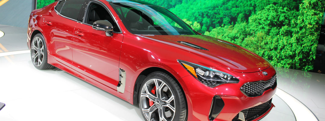 2018 kia novo. interesting novo new 2018 kia stinger photos chicago auto show throughout kia novo 1