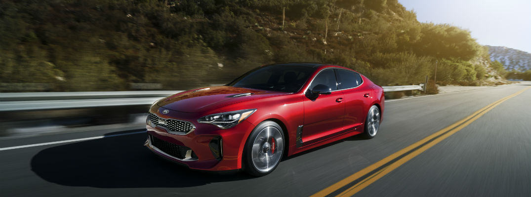performance and powertrain specs for the 2018 Kia Stinger