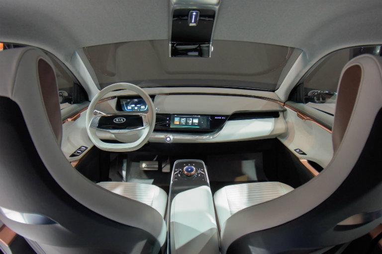 Niro Ev Concept Ces 2018 Interior O Team Gunther Kia