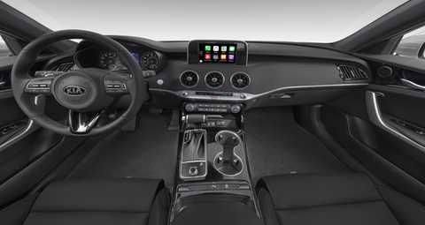 Interior And Exterior 2018 Kia Stinger Color Options