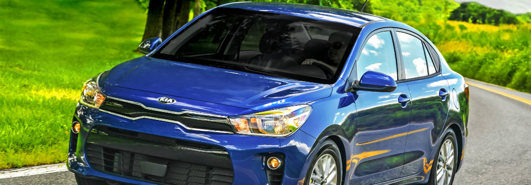 2018 Kia Rio Earns IIHS Top Safety Pick Plus Honor