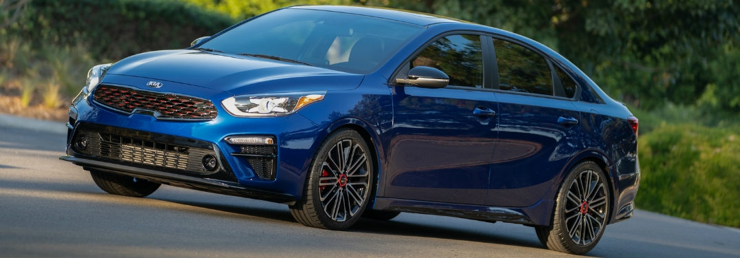 2020 Kia Forte GT seen from the side