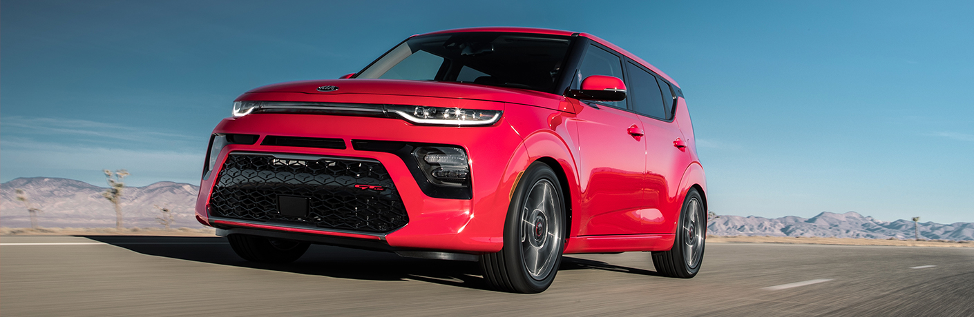 What exterior color do you want on your 2020 Soul?