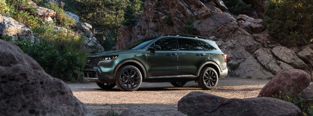 The 2021 Sorento X-Line is perfect for outdoor types