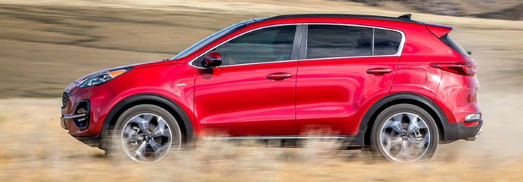 2022 Kia Sportage offers increased passenger and cargo space