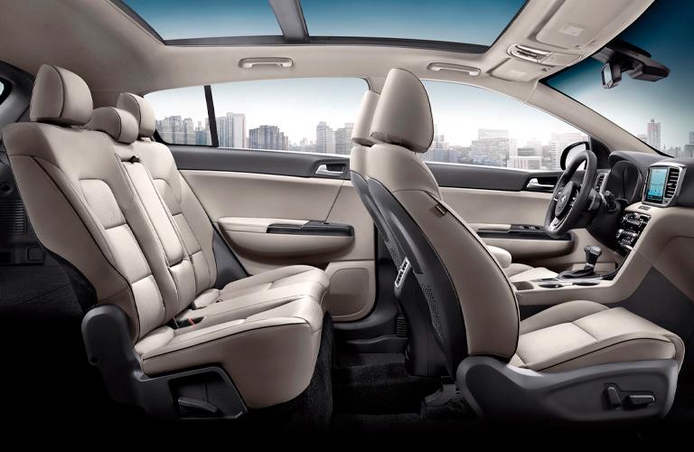 2022 Kia Sportage passenger seats