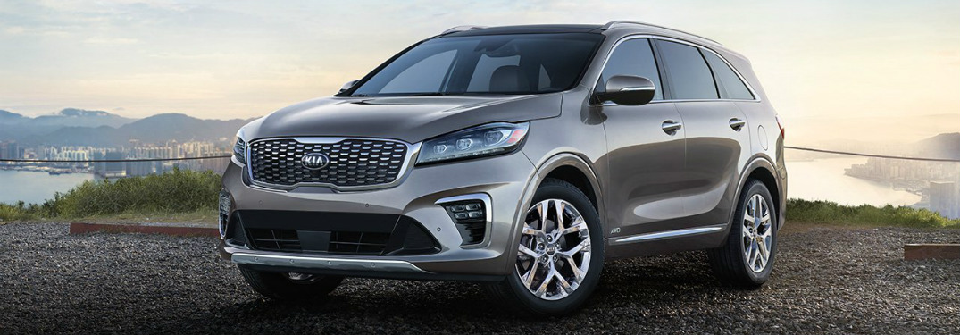 Color Options for the 2019 Kia Sorento
