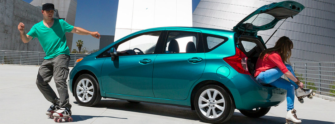 Nissan Versa Note named a Top 10 back-to-school car for 2016