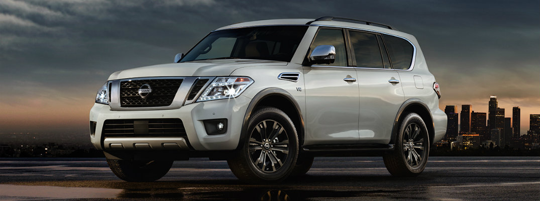 New features of the 2017 Nissan Armada