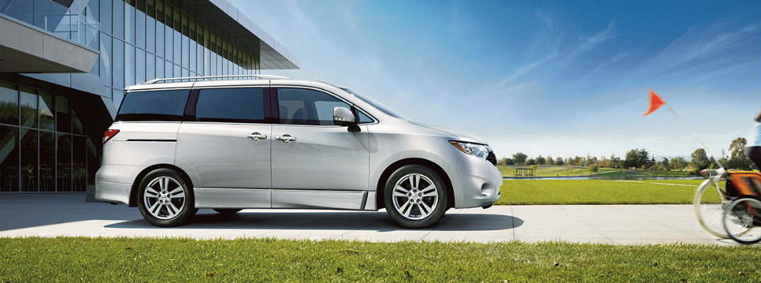 2016 Nissan Quest cargo volume and specifications