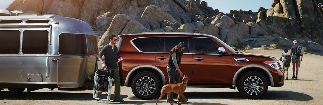 Outstanding versatility and capability help make 2017 Nissan Armada SUV a top pick