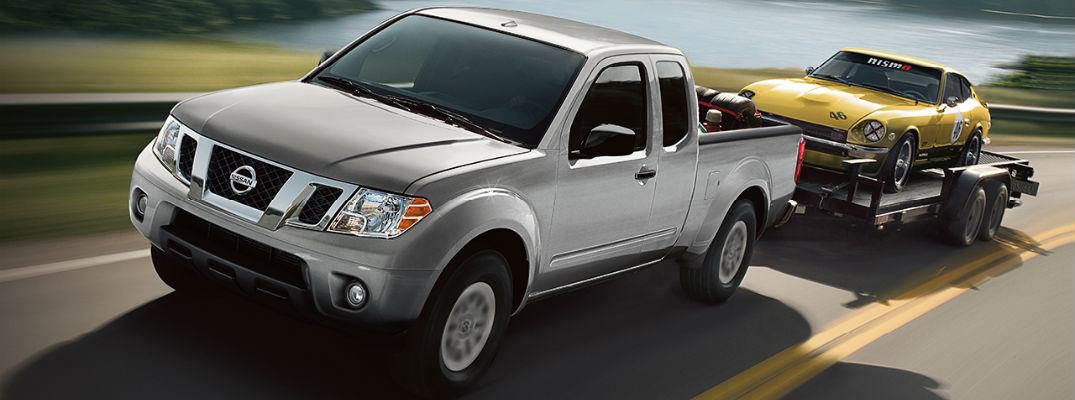 Impressive tow rating of 2017 Nissan Frontier helps deliver powerful capability